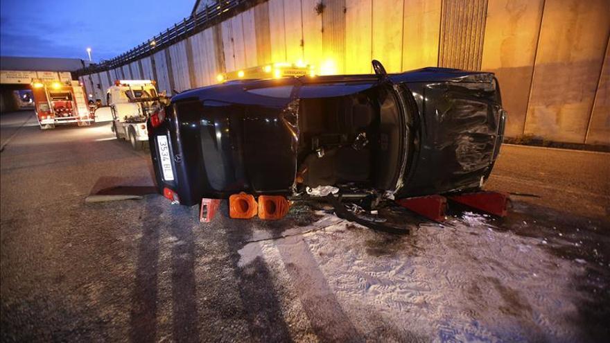 Dos personas heridas, una grave, en un accidente en Vigo