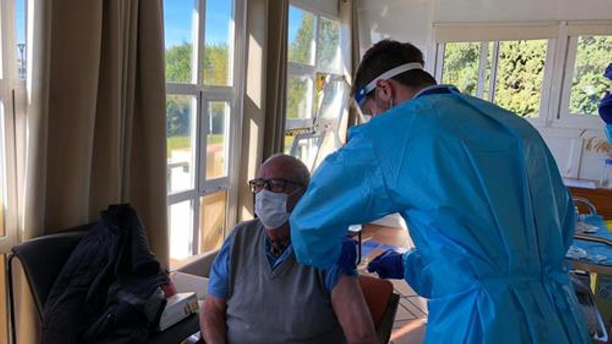 Vacunación contra la Covid-19 en Andalucía