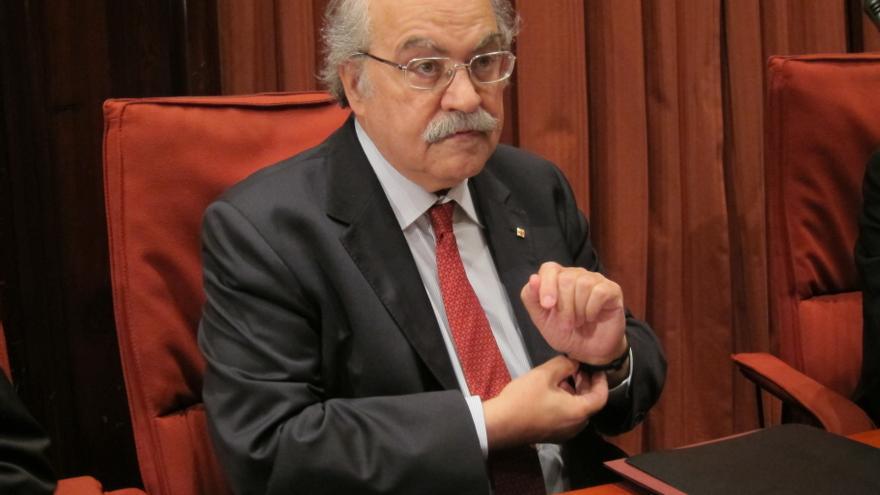 Mas-Colell pide un mecanismo ordinario de acceso a financiación a parte del Fondo de Liquidez