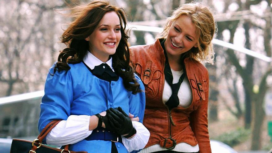 Leighton Meester y Blake Lively en 'Gossip Girl'