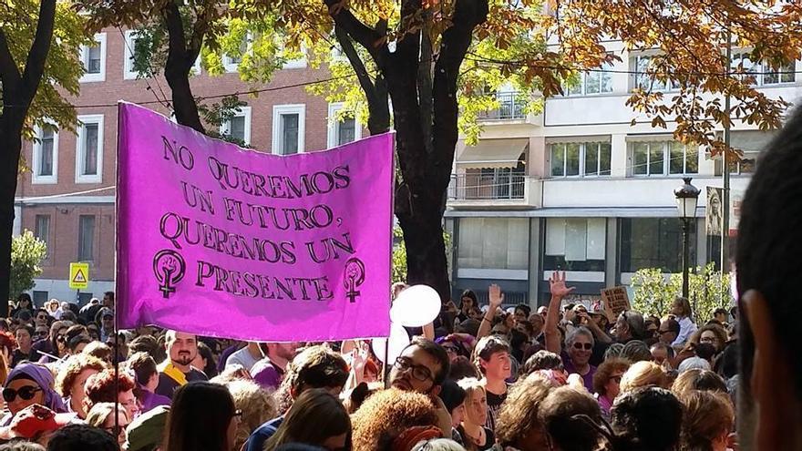 Marcha del domingo pasado en Madrid.