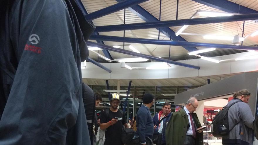 Rodrigo Rato, el pasado 26 de noviembre en el aeropuerto de Ginebra. Foto: eldiario.es