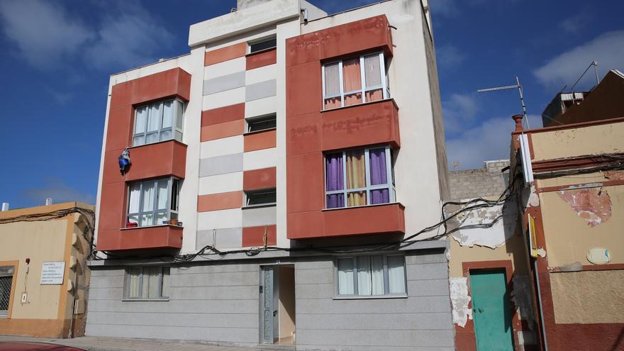 Edificio de la comunidad de La Ilusión, Telde.