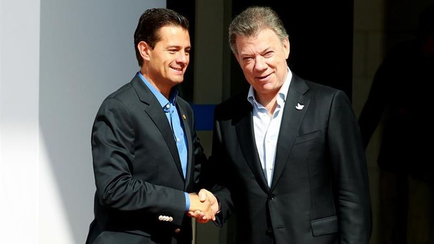 El presidente de Colombia abre la cumbre de la Alianza del Pacífico