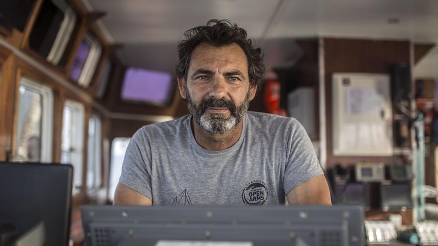 Oscar Camps, fundador de la ONG Proactiva Open Arms.