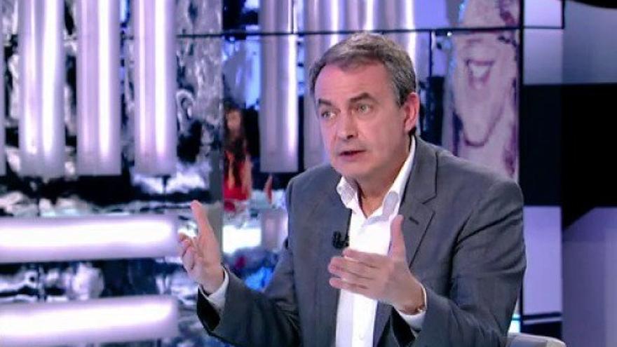 José Luis Rodríguez Zapatero, en 'El Objetivo' de LaSexta