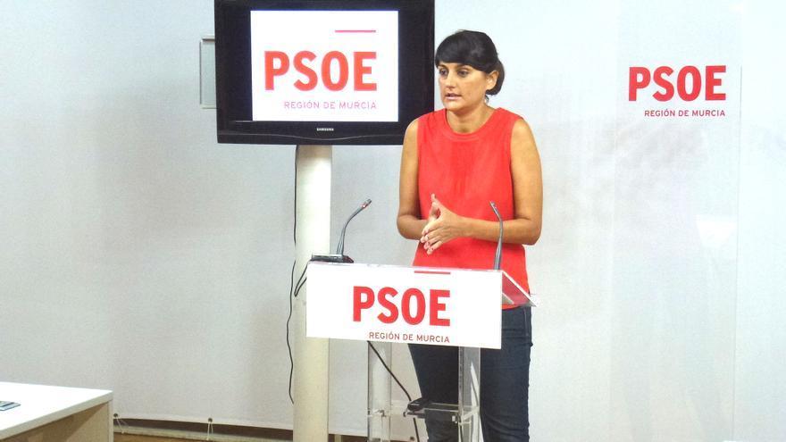 María González Veracruz, diputada murciana en el Congreso y portavoz del Comité Electoral del PSOE