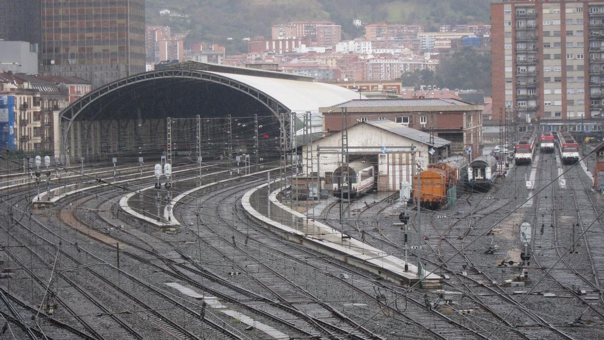 El TAV llegará a Bilbao a la estación de Abando