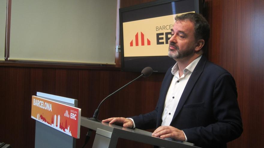 """Bosch (ERC) pide a Domènech (ECP) que """"no se autoengañe"""" y defienda la soberanía de Catalunya"""