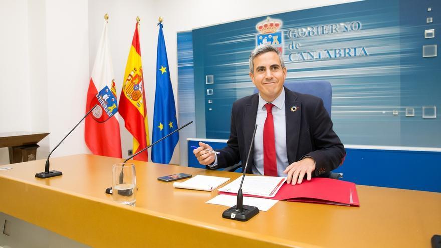 """Zuloaga adelanta un Presupuesto 2020 """"prudente"""" pero que """"avanza en los desafíos"""" de Cantabria"""