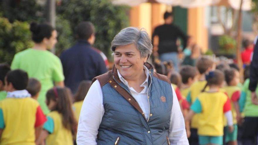 Noelia García, alcaldesa de Los Llanos de Aridane.