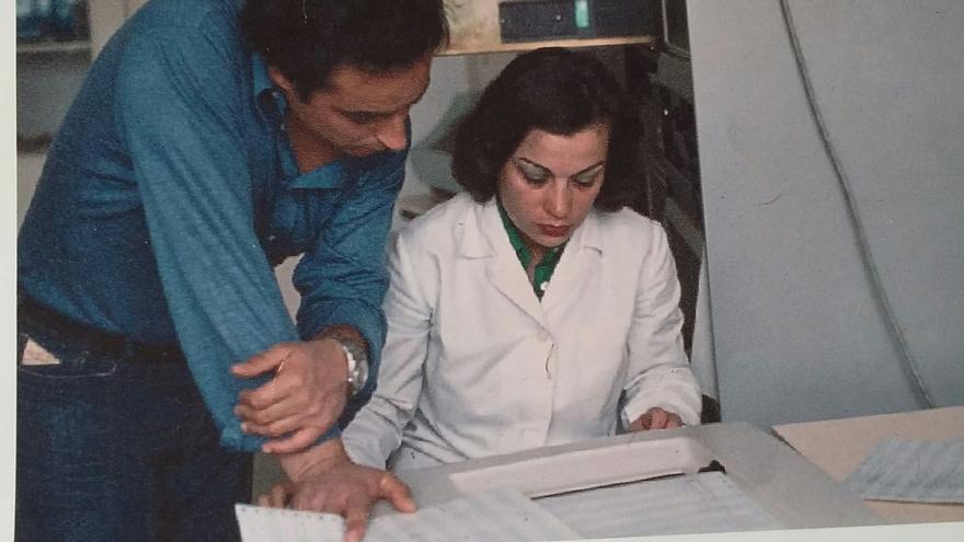 Teresa de Pedro estudió Ciencias Físicas pero se encaminó a la informática