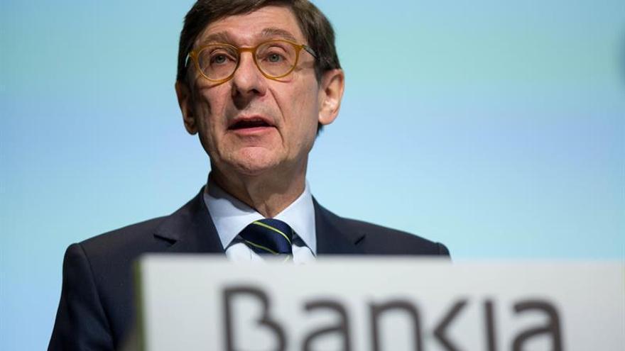 Ignacio Goiribolzarri, presidente de Bankia