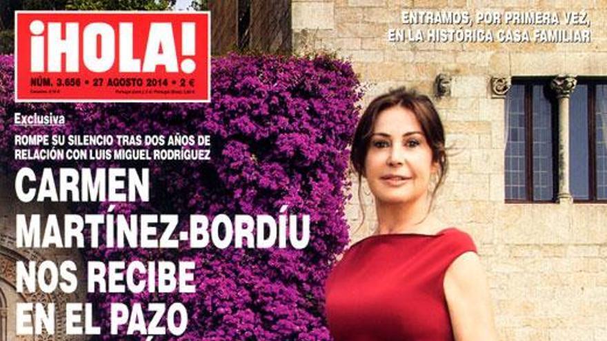 Portada de '¡Hola!' protagonizada por la nieta del dictador