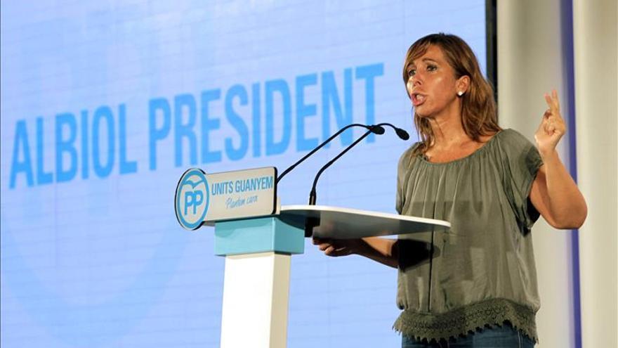 """Sánchez-Camacho (PPC): """"Una Cataluña independiente no garantiza las pensiones"""""""