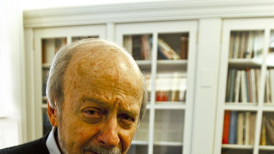 El escritor E.L. Doctorow. Foto: Roca Editorial