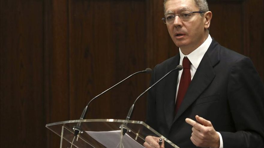 Gallardón destaca la responsabilidad de la mayoría en el acuerdo para renovar el CGPJ