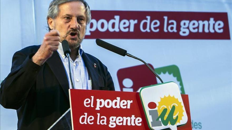 """Willy Meyer advierte que Rajoy no tendrá """"legitimidad"""" si hay rechazo masivo al PP"""
