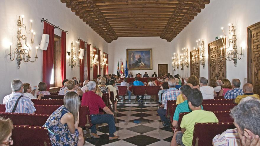 Diputación Cáceres pleno
