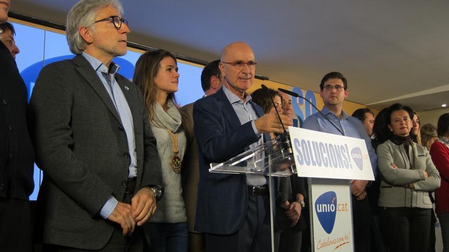 """Duran (Unió) asume una """"derrota personal"""" y ve gran inestabilidad en España"""