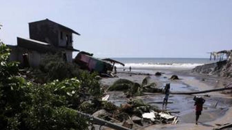Huracán Ida en El Salvador