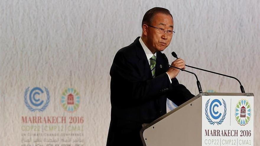Ban Ki-moon pide a los países que eliminen ayudas a los combustibles fósiles