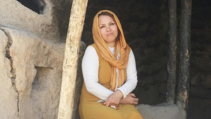 La autora de 'Luz de cenizas', Zahra Yaganah.