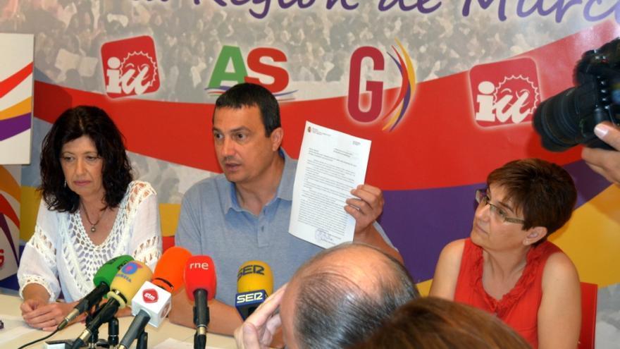 Rodríguez y Herguedas, junto al candidato de Ganar, José Antonio Pujante