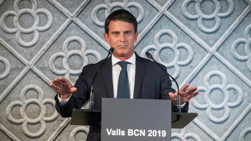 """""""Barcelona, capital europea"""" nombre de la plataforma de Valls para alcaldía"""
