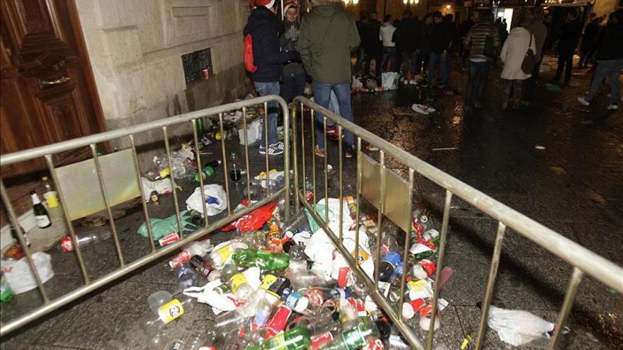 La guardia sanitaria de cada Nochevieja: alcohol y más alcohol