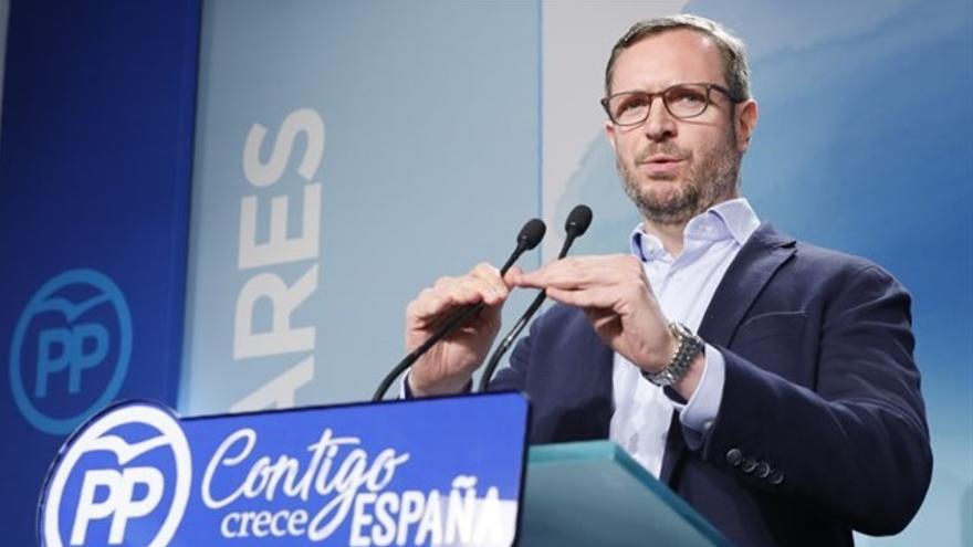 """Maroto acusa a Sánchez de pactar """"en secreto"""" un referéndum con el independentismo catalán"""