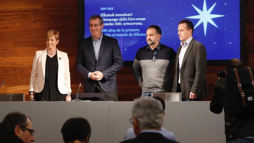 Euskadi rescata la figura de Elcano en el 5º centenario de la vuelta al mundo