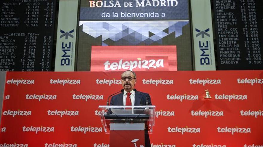 Telepizza pierde 19,3 millones hasta junio por los costes de salir a bolsa
