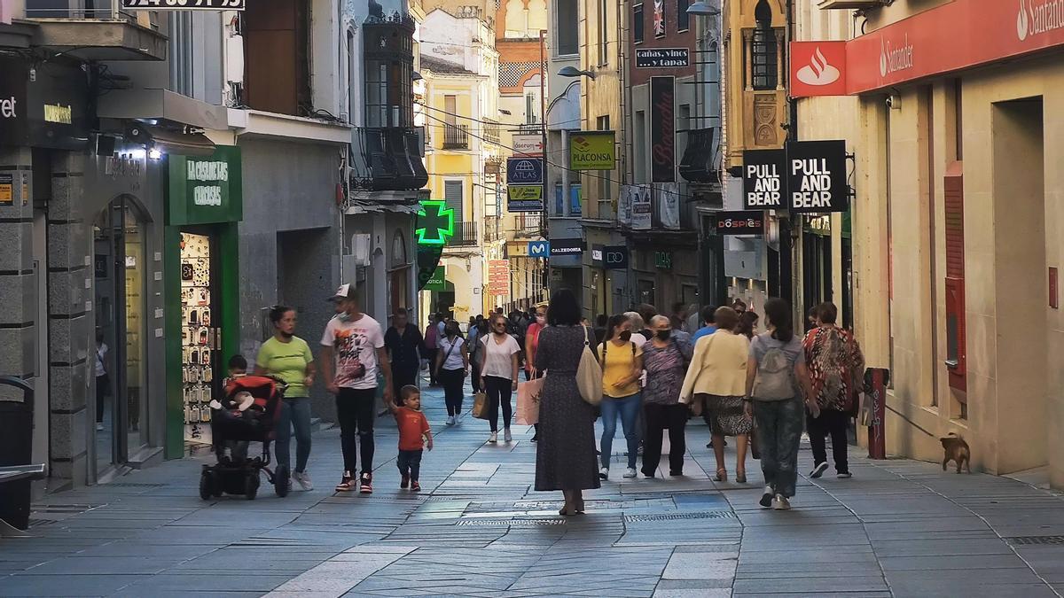 Calle Santa Eulalia de Mérida