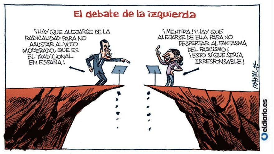 El debate de la izquierda