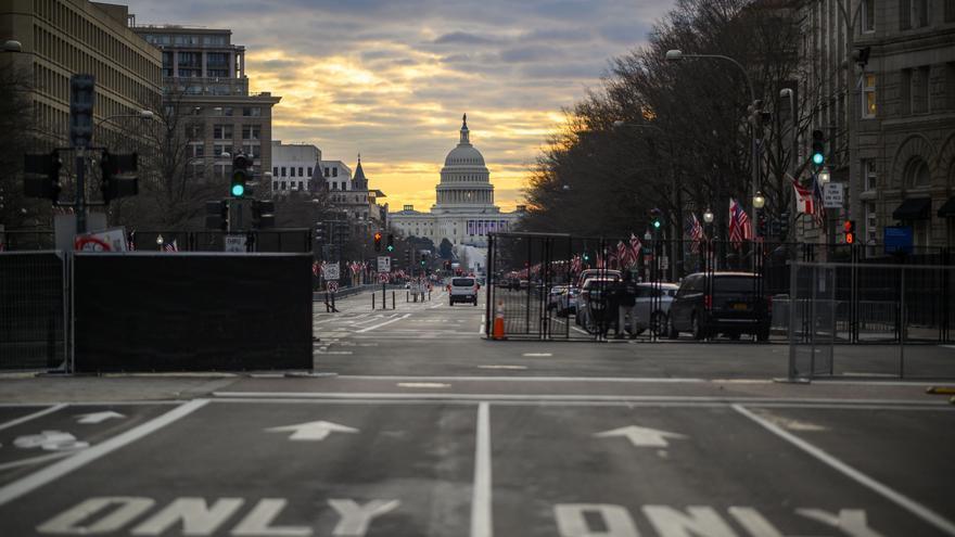 Washington se prepara para una ceremonia de investidura marcada por la pandemia y la tensión política.