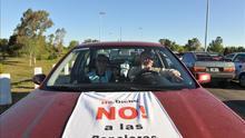 La Armada uruguaya monta un operativo especial por la protesta ambientalista argentina