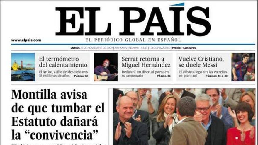 De las portadas del día (23/11/09) #7