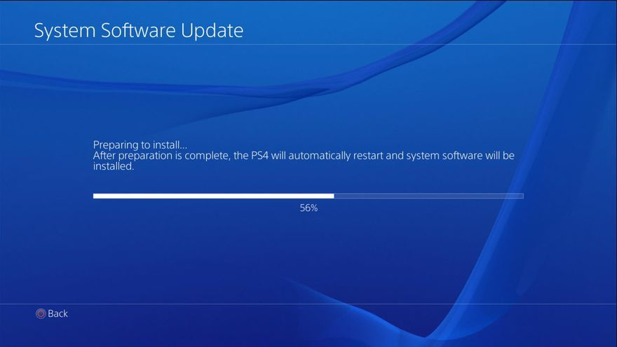 PS4 firmware 1.72
