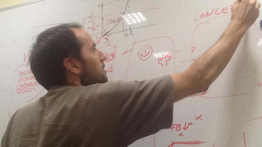 Jaime de la Rocha, doctor en Física a la cabeza del grupo de dinámica de circuitos corticales (Hospital Clínic de Barcelona)