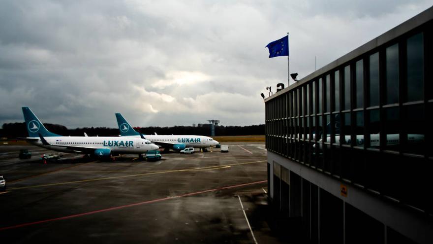 Imagen de la terminal del Aeropuerto de Luxemburgo. VIAJAR AHORA