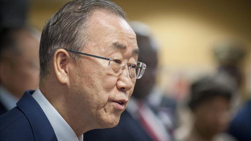 Ban Ki-moon dice que congelar el conflicto de Ucrania no beneficia a la gente
