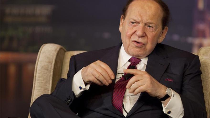 Sheldon Adelson asistirá esta tarde a una audiencia con el Rey en El Pardo