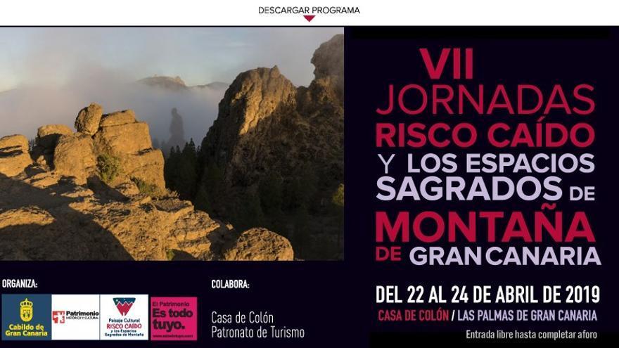 Imagen VII Jornadas Risco Caído y los Espacios Sagrados de Montaña.