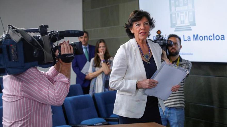 Celaá: la decisión del TS sobre Junqueras y la negociación política no deben cruzarse