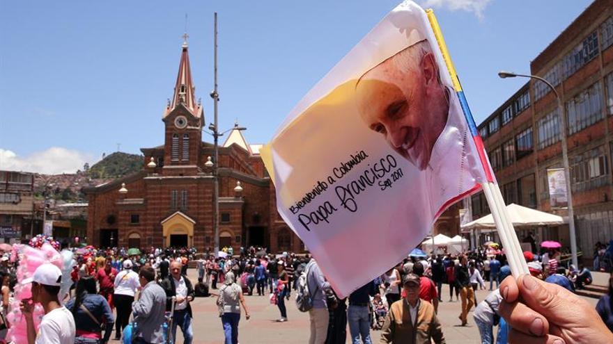 Colombia ofrece la transmisión de la visita del papa a más de 80 países
