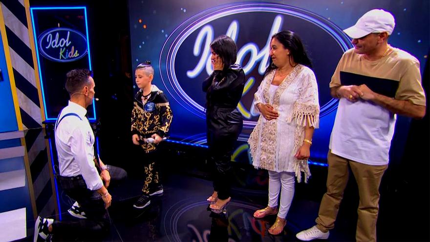 """Lágrimas de Jesús Vázquez en 'Idol Kids' por el rap de un niño contra el bullying: """"Nunca tuve un amigo como tú"""""""