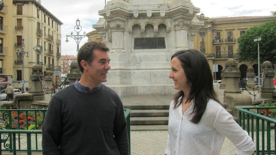 Ione Belarra (Podemos) recibe un premio de la Red Española de Inmigración