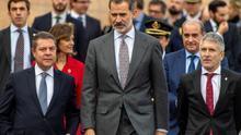 "Felipe VI elogia el papel ""crucial e indispensable"" de la Policía Nacional"