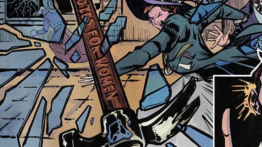 Suffragitsu, el cómic sobre las sufragistas. Joao Vieira/Jet City Comics